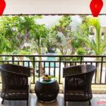 Nội thất Minh Thy cung cấp bàn ghế giả mây tại Làng Lụa Hội An(hoi an silk village)