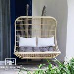 Quá trình sản xuất ghế xích đu chất lượng cao cho khách dự án