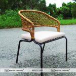 Hướng dẫn đan ghế cafe mây nhựa MT 2A229