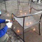 Ra mẫu bàn ghế sắt ngoài trời dạng lưới cho quán cafe, nhà hàng ,khách sạn, resort