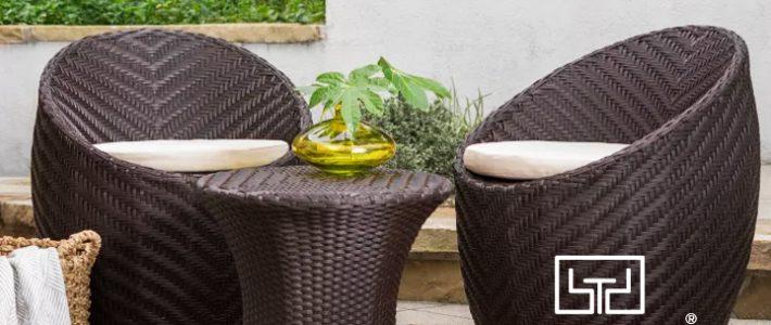 Tại sao nên chọn bàn ghế cafe nhựa giả mây cho quán cafe của bạn